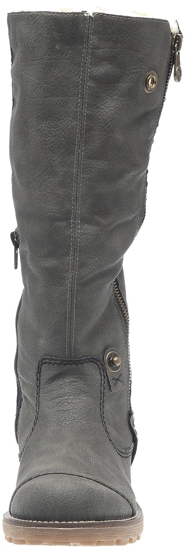 f4ae2027c0e0 Rieker Swetlana Z0492-43, Damen Stiefel, Braun (dust 43), EU 36  Amazon.de   Schuhe   Handtaschen