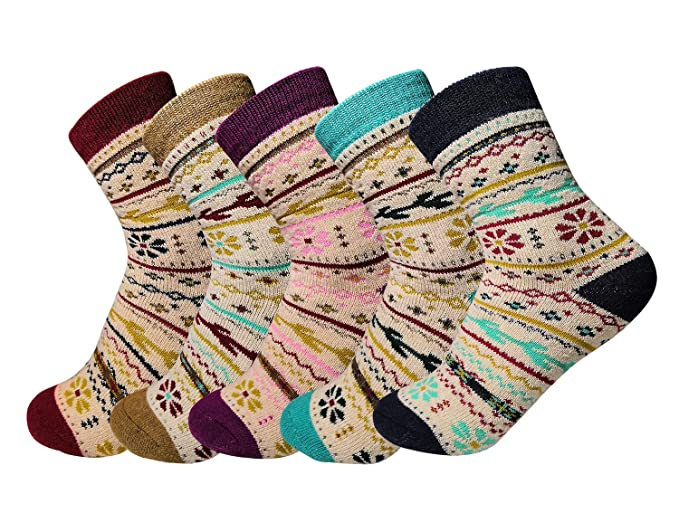 Oliked Calcetines termicos ricos en algodon para- Muje - Ideales para invierno EU 36-