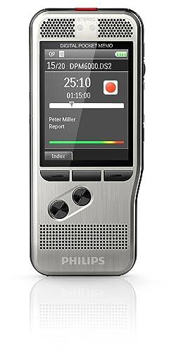 Philips DPM6000 Digital Pocket Memo Voice Recorder