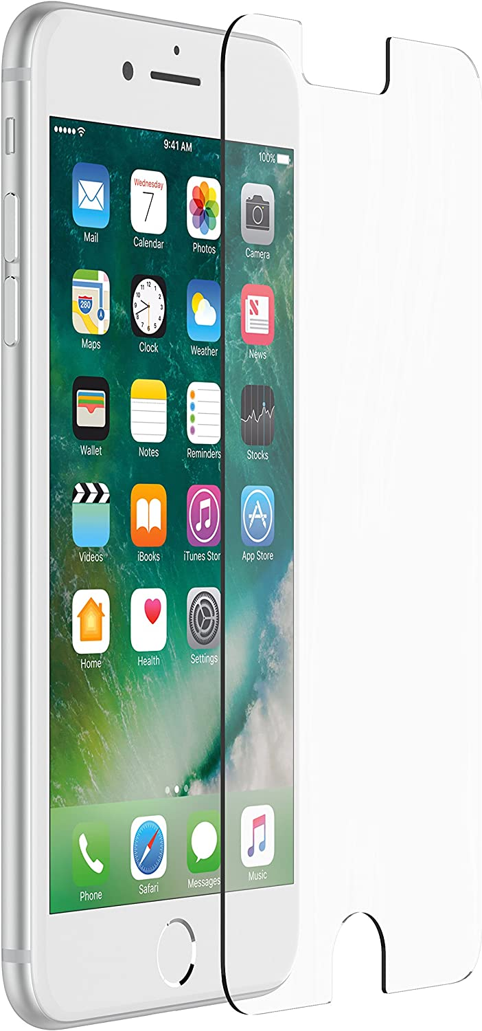 OtterBox ALPHA GLASS SERIES Screen Protector for iPhone 6 Plus/6s Plus/7 Plus/8 Plus (ONLY) - Retail Packaging - CLEAR