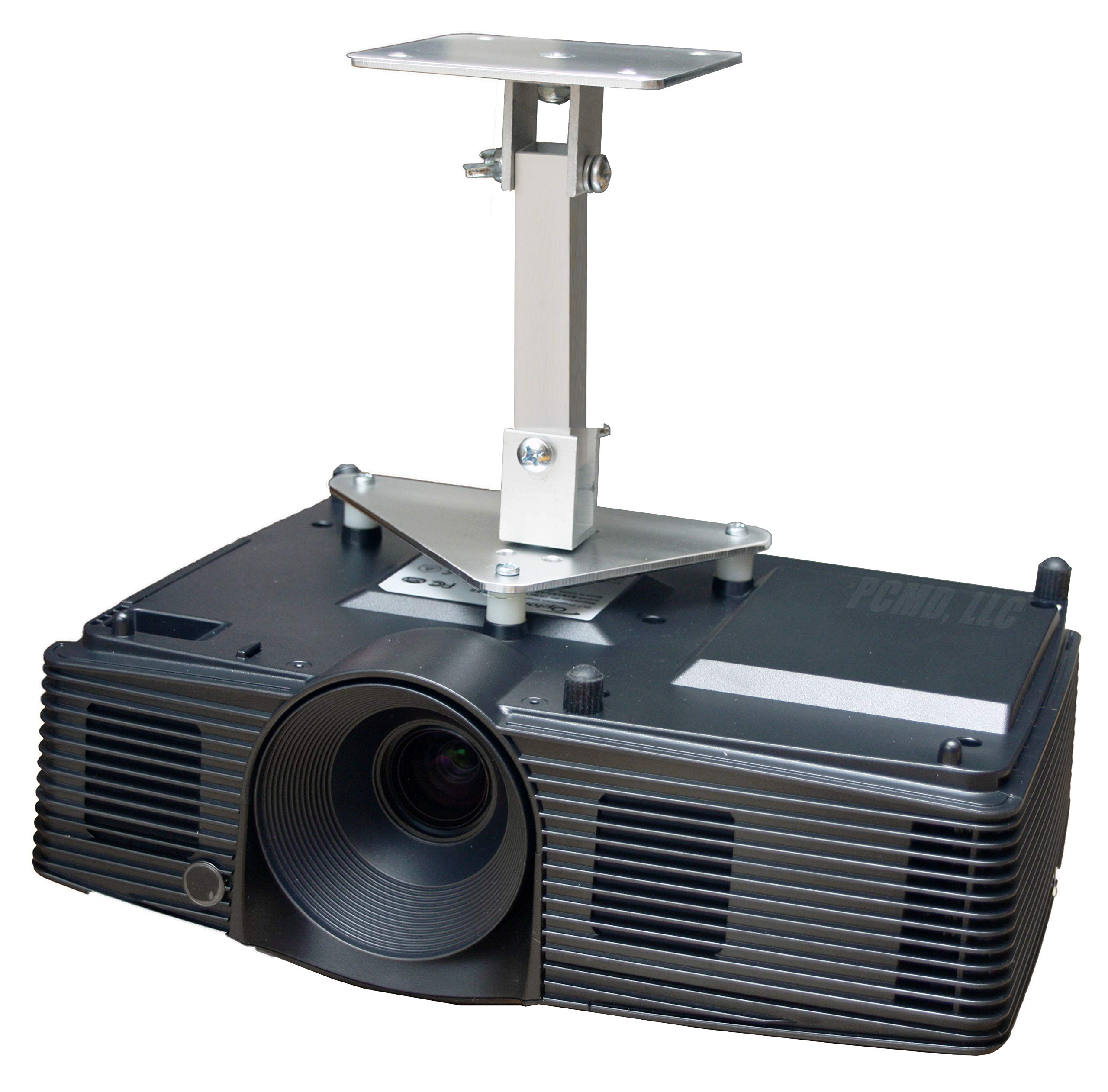 PCMD, LLC. Projector Ceiling Mount Compatible with Optoma X305ST X306ST (8-Inch Extension)