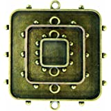 Spellbinders MB1-002 Media Mixage Squares One, Bronze