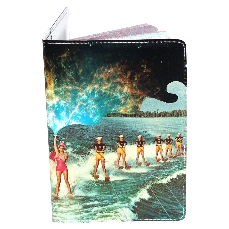 Cosmic Water Ski Passport Holder 11:11 Enterprises PP-2344A