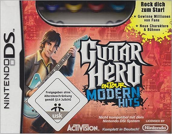 Guitar Hero: On Tour - Modern Hits Pack [Importación alemana]: Amazon.es: Videojuegos