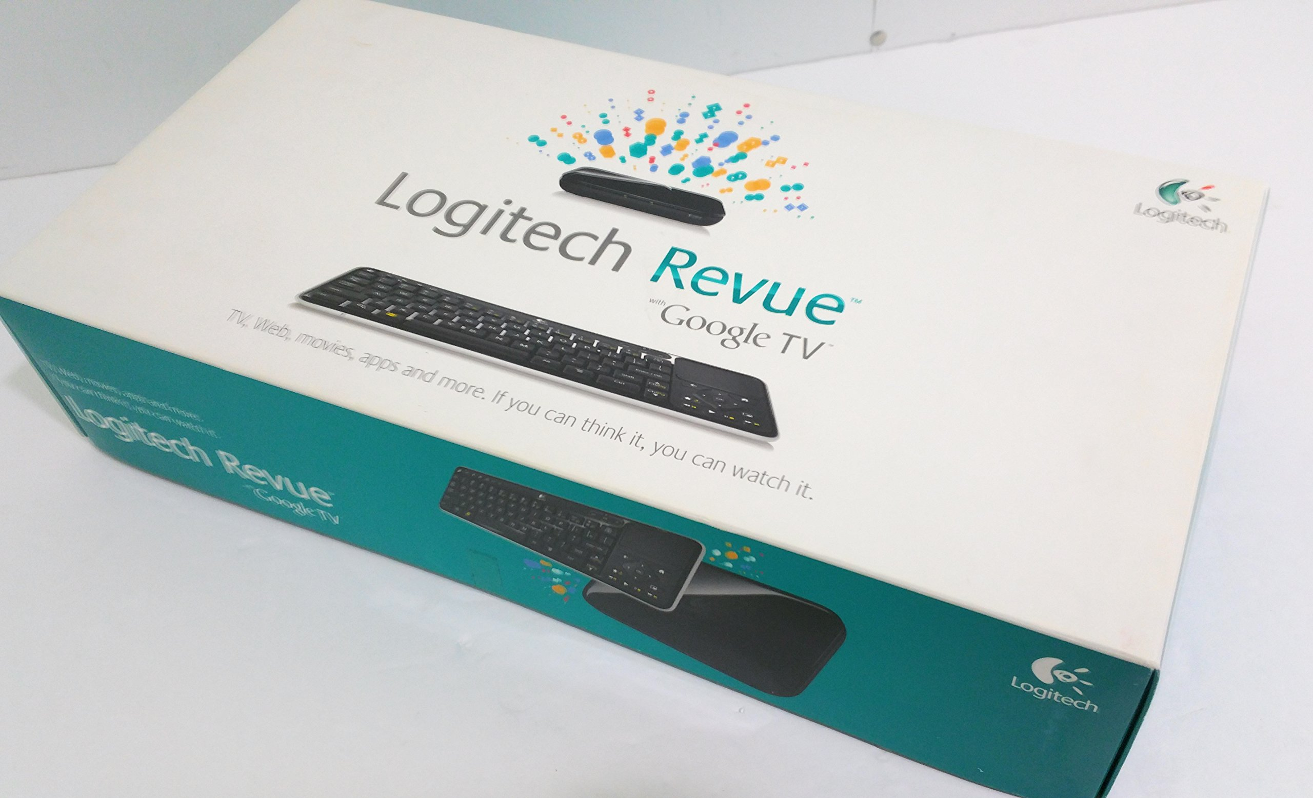 Logitech Revue Companion Box and Keyboard Controller
