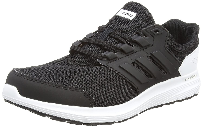 super popular 48db0 0e927 Amazon.com   adidas Men Running Shoes Galaxy 4 Training Cloudfoam Trainers  Black CP8826   Road Running