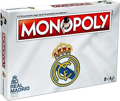 Oferta amazon: Winning Moves Monopoly Real Madrid CF (63324), Multicolor