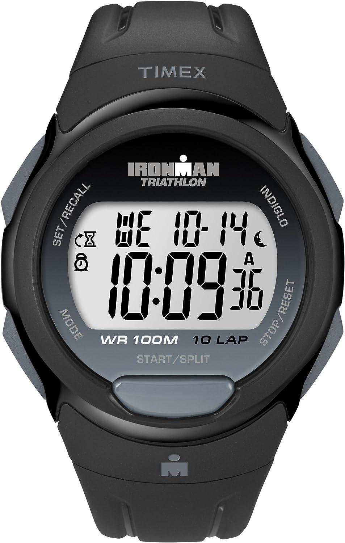 Timex Ironman Unisex Deporte de tamaño Completo Reloj de Cuarzo con Pantalla Digital y Correa de Resina