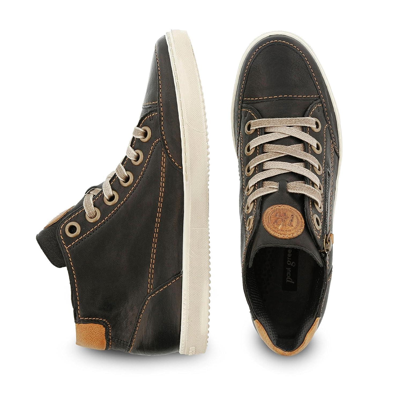 Paul Grün Damen 4242381 Sneaker Sneaker 4242381 schwarz/Cuoio 330a13