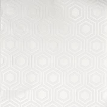 Brewster RD5671 Hive Paintable Geometric Wallpaper white