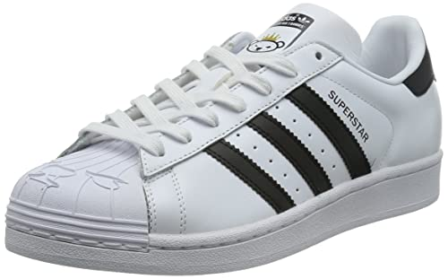 adidas Superstar NIGO Bearfoot - Zapatillas para Hombre, Color Blanco/Negro, Talla 46