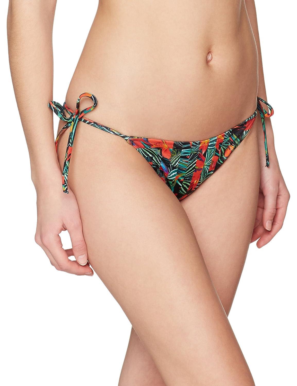 Calvin Klein Women's Cheeky String Side Tie Bikini-Print Bottoms KW0KW00217