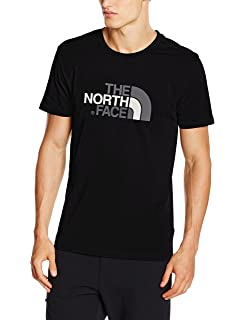 af51fa882 The North Face Men Simple Dome Short Sleeved T-Shirt: Amazon.co.uk ...