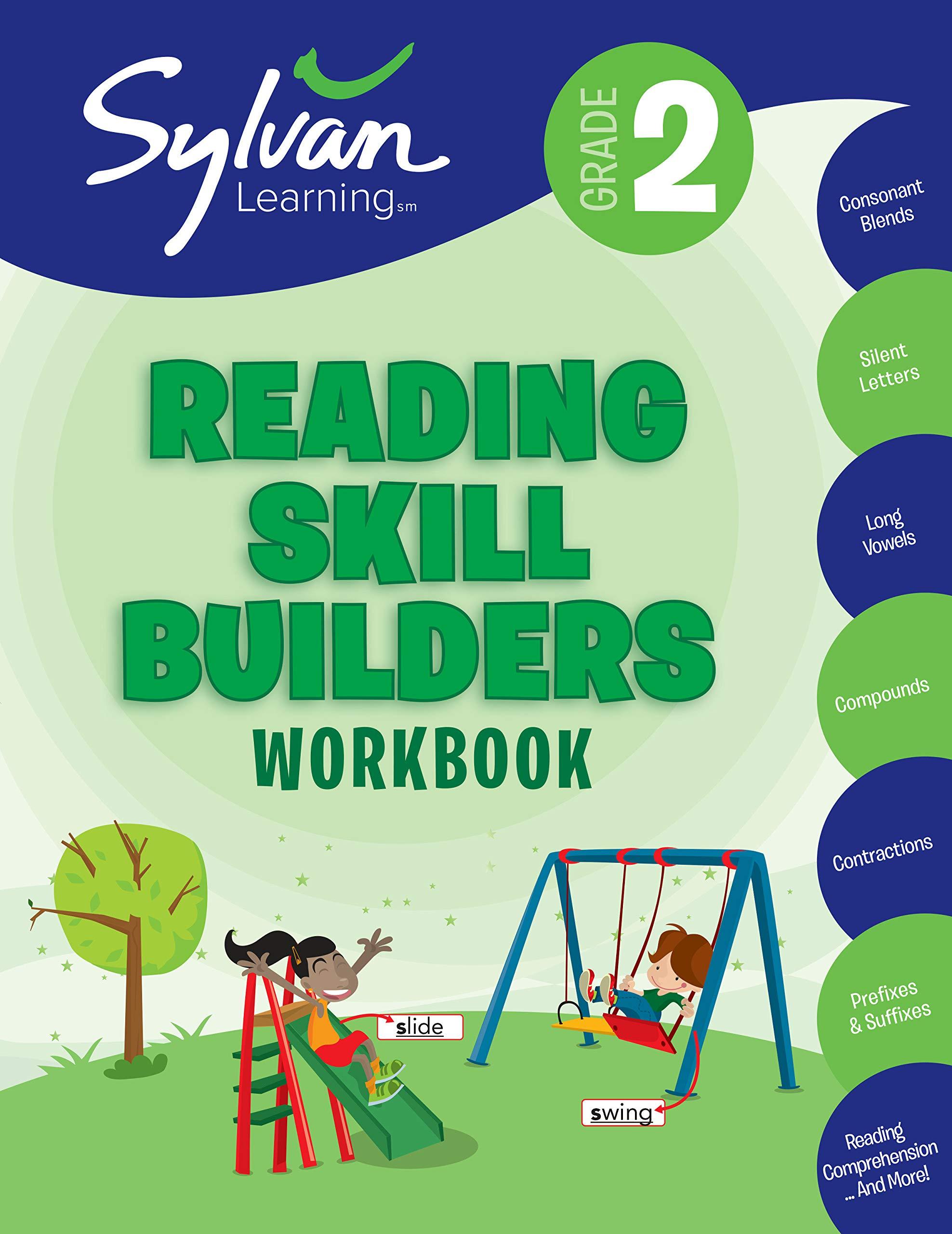 - 2nd Grade Reading Skill Builders Workbook: Consonant Blends