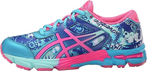 ASICS Zapatillas de running Gel-Noosa Tri 11 GS (Ni?o peque?o / Ni?o grande), Turquesa / Rosa fuerte / Azul de Asics, Ni?o de 2,5 M de EE. UU.: Amazon.es: Zapatos y complementos
