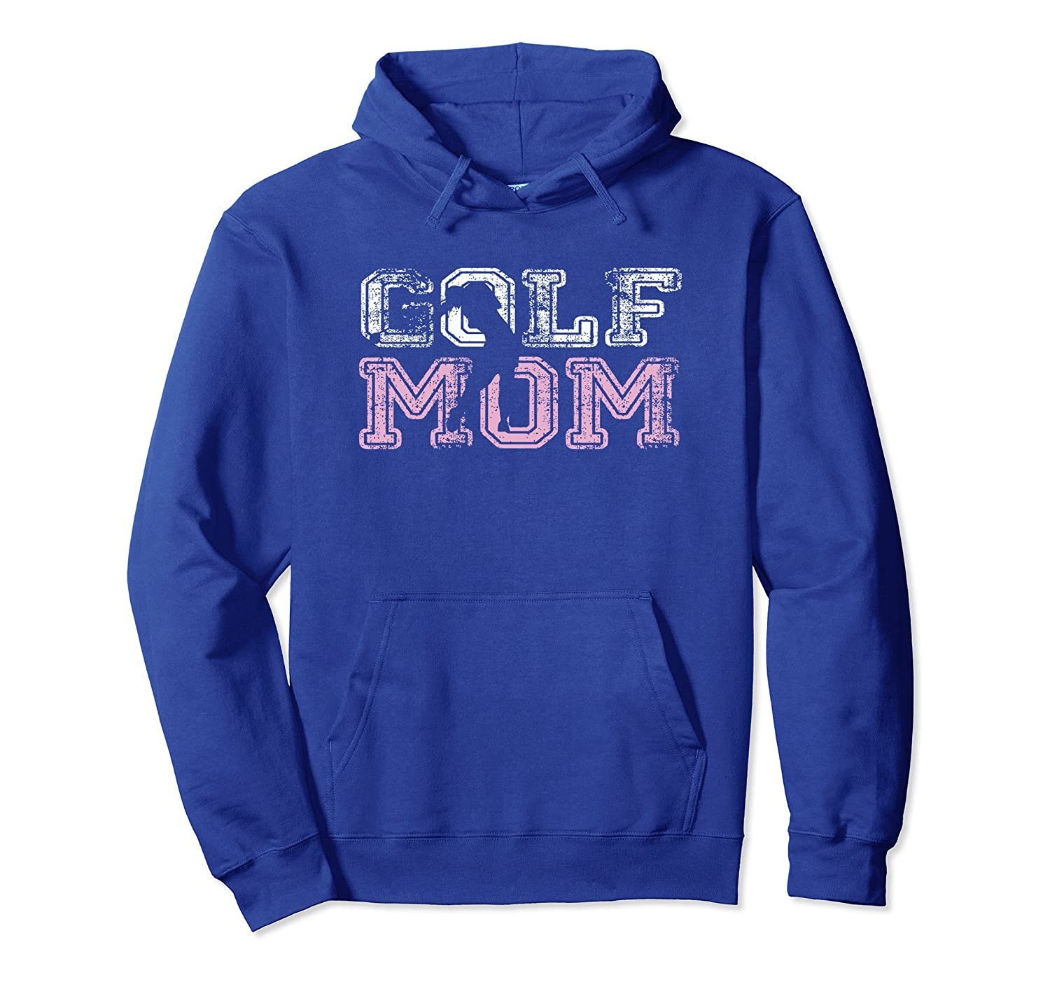Womens womens golf mom pullover hoodie-TH