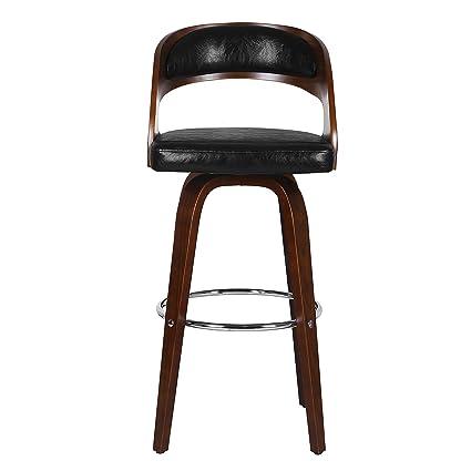 Admirable Porthos Home Upholstered Bentwood Gardner Barstool Black Dailytribune Chair Design For Home Dailytribuneorg