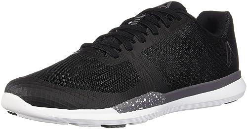 c253c1dcde Reebok Women's Women's Sprint TR Training Shoes Shoe, Black/Shark/White, 6