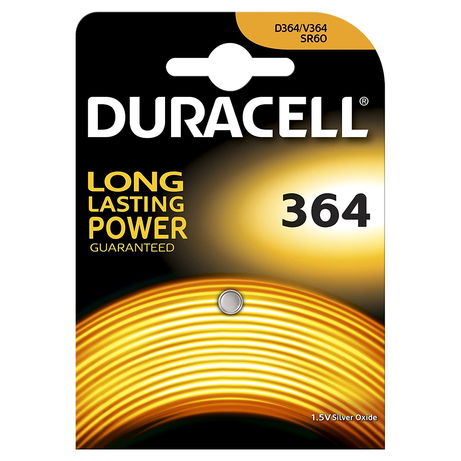 Duracell 364 Argento-Ossido 1.5V batteria non-ricaricabile DURACELL ITALY S.R.L. D364