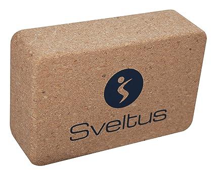 Sveltus Yoga Brick Corcho Ladrillos Unisex: Amazon.es ...