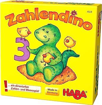 HABA 4928 Zahlendino - Juego Educativo con Cifras (en alemán ...