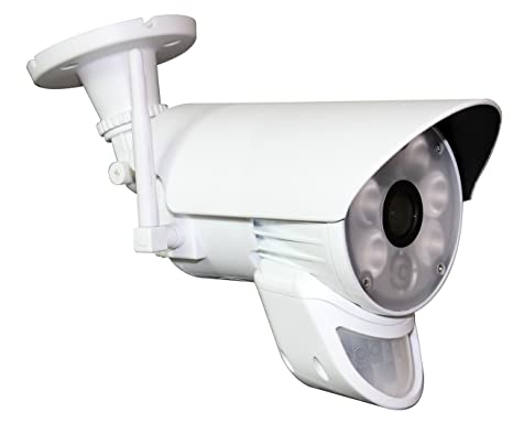 Plafoniera Per Esterno Con Crepuscolare : Jeiko telecamera hd wifi da esterno con faro led sensore di