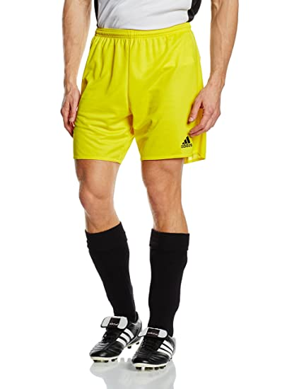 new styles dd1fe baad1 adidas Parma 16 SHO Shorts, Hombre, YellowBlack, 2XL