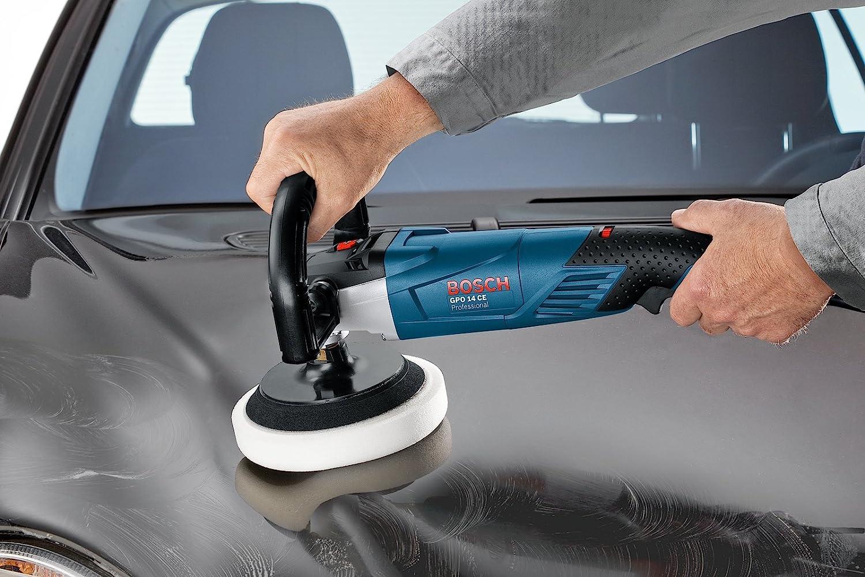 1400 W Bosch Professional 0601389000 Pulidora 240 V Azul//Negro