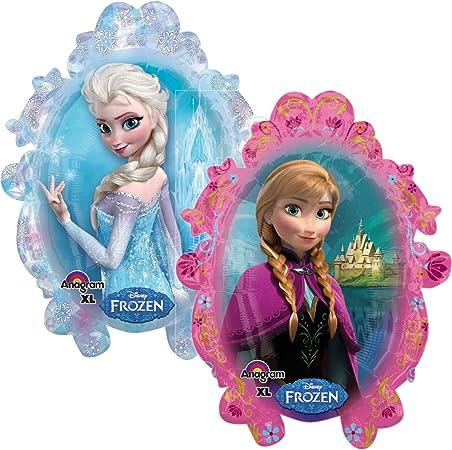 Grosser Folienballon Frozen Die Eiskonigin Fur