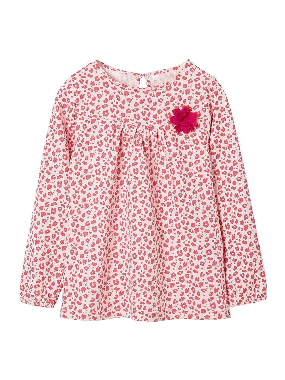 Vertbaudet M/ädchen-Shirt mit T/üllblume