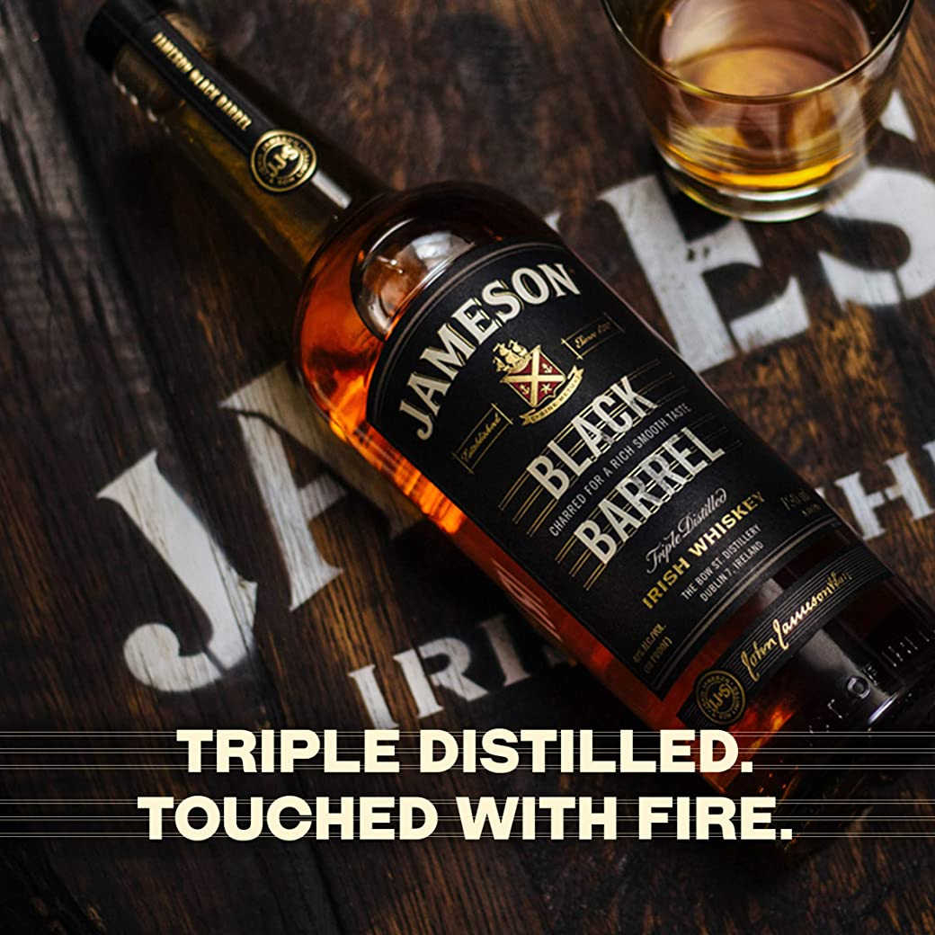 Jameson Black Barrel Whisky Irlandés