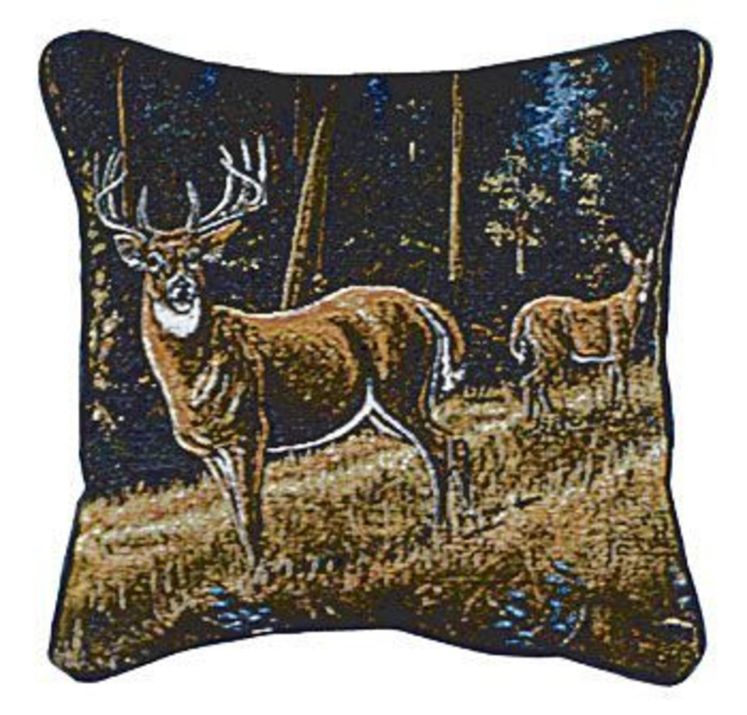 hide mina product throw inch overstock print deer brown and today victory nourison leather axis pillow home x pillows free by garden natural shipping