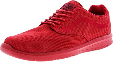 497c06d78c1b4 Vans Men's Iso 1.5 Ankle-high Fabric Running Shoe Mono Red 11 D(M ...