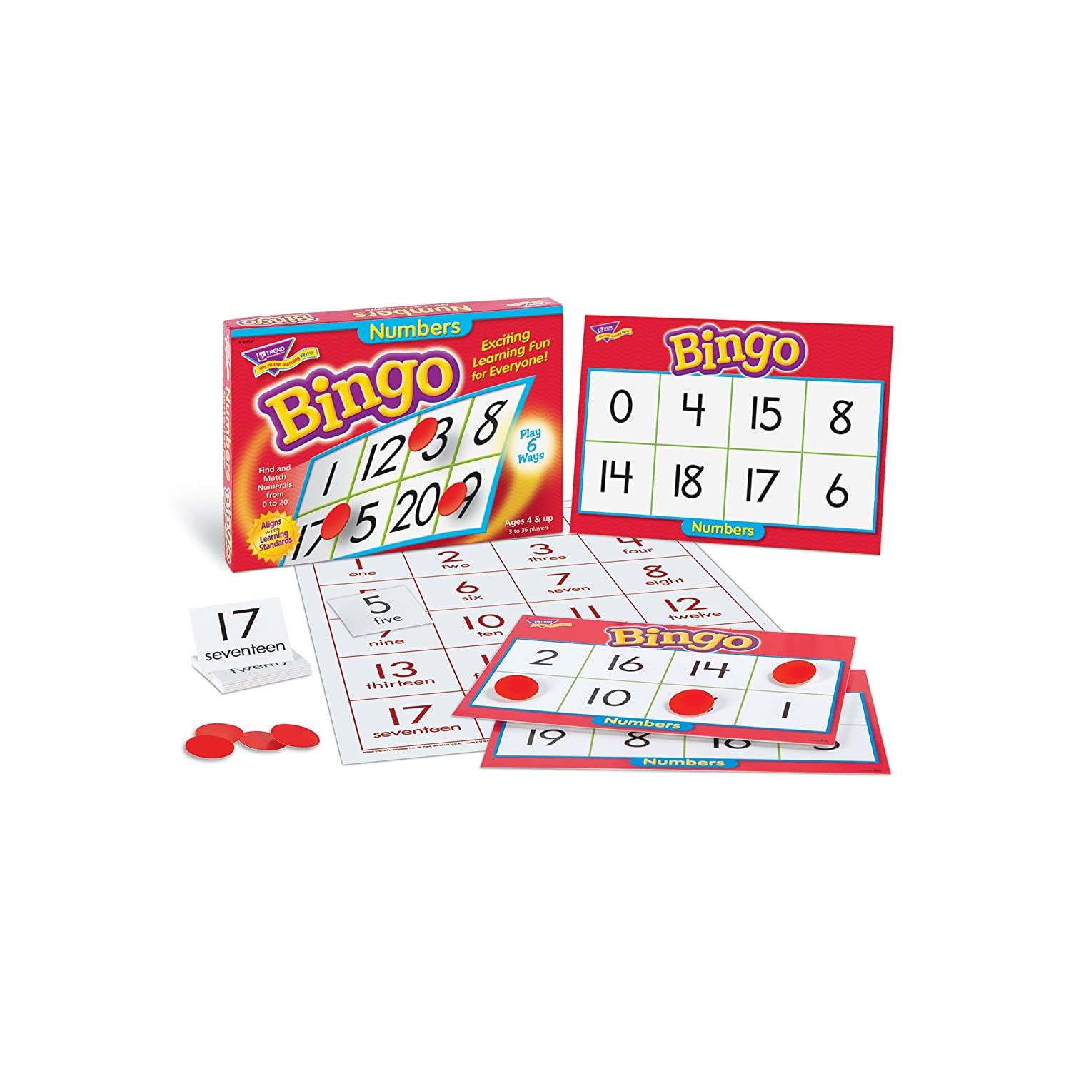 Bingo for Numbers 1-10. Great for preschool number ...