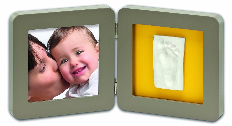 Baby Art Modern Print Frame - Taupe and Azure/Sun 34120096