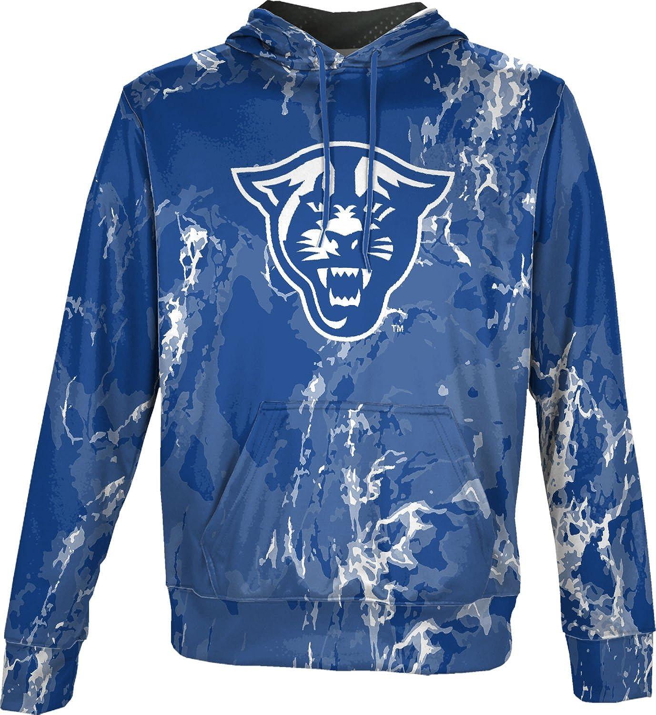 School Spirit Sweatshirt Georgia State University Mens Pullover Hoodie Marble