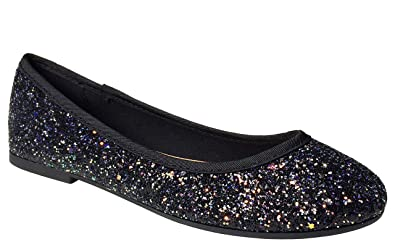 b60f992663 Amazon.com | BAMBOO Women's Round Toe Ballet Flats | Flats