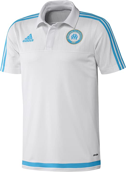 adidas Polo Camisa Polo Camiseta Olympique de Marsella: Amazon.es: Ropa y accesorios