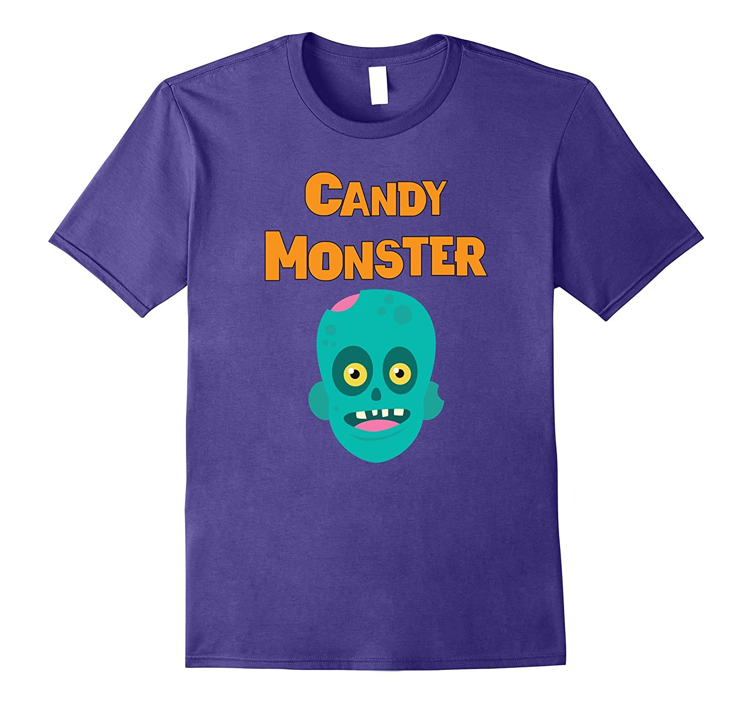 Candy Monster Zombie Kids Halloween Costume T-Shirt-Art
