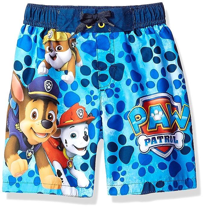 34912f19ba Amazon.com  Paw Patrol Big Boys Pups Swim Trunk  Clothing