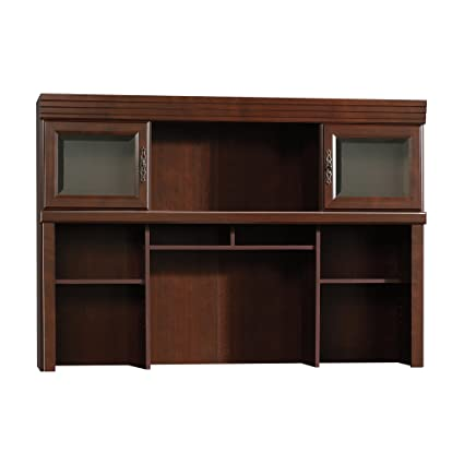 Amazon Sauder 404975 Heritage Hill Classic Cherry Hutch Only