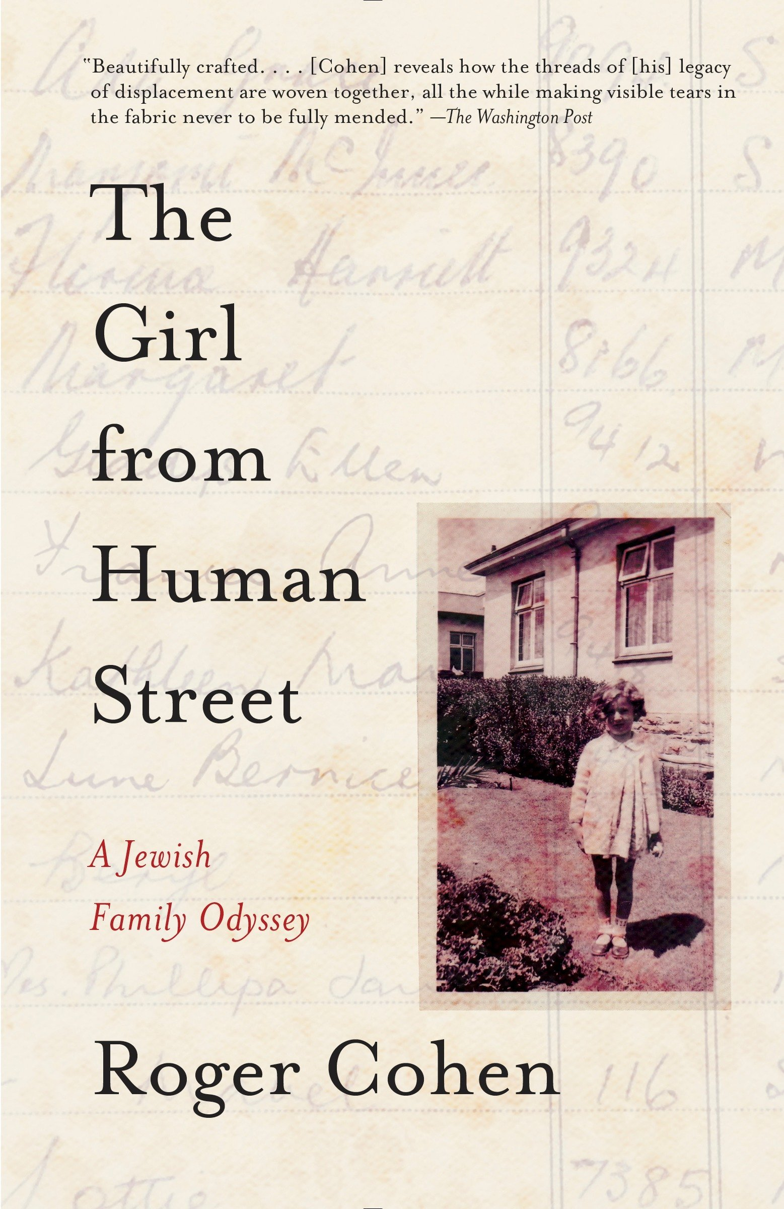 Read Online The Girl from Human Street: A Jewish Family Odyssey PDF