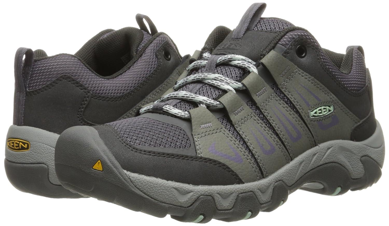 KEEN Women's Oakridge Shoe B019HDO966 5.5 B(M) US Gray/Clear Aqua