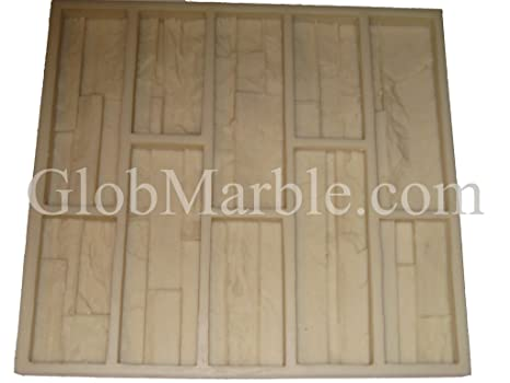 Cultured Stone Mold, Wall Veneer Paver  Rubber Mold 101/2