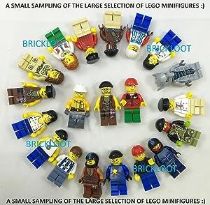 LEGO Grab Bag Lot of 10 Minifigures Figures Men People Minifigs