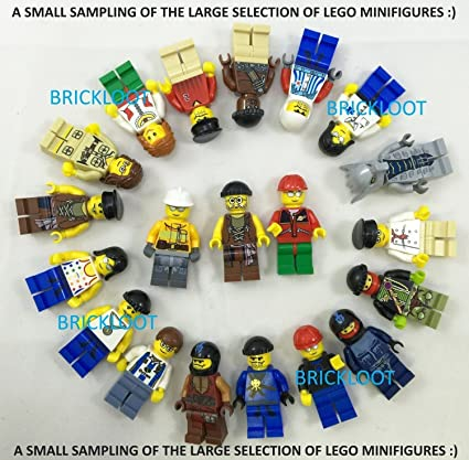 473fdbd44a7 Amazon.com  Grab Bag Lot of 10 Lego Minifigures Figures Men People Minifigs   Toys   Games