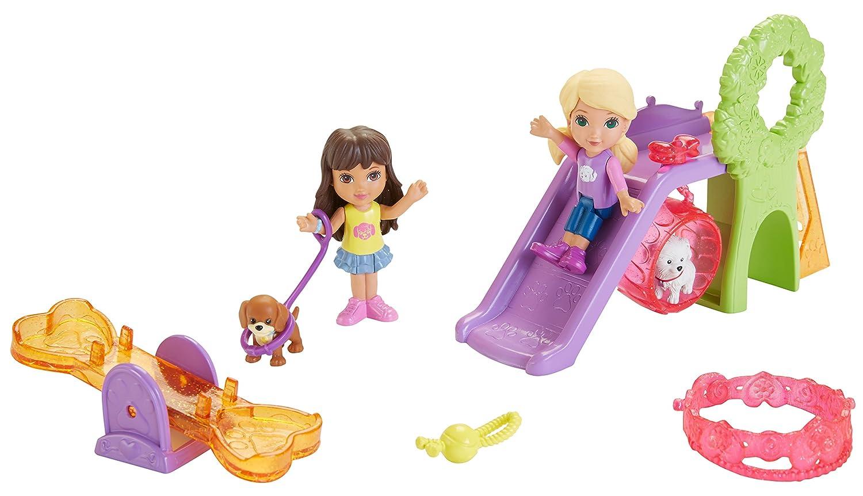 Amazon.com: Fisher-Price Nickelodeon Dora and Friends Doggie Park ...