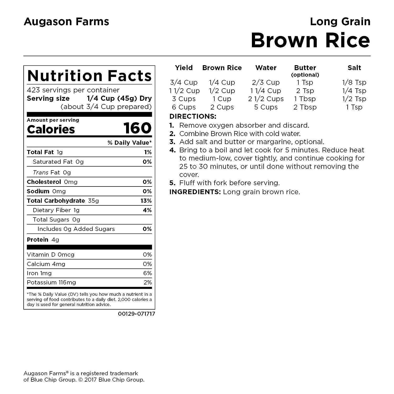 Amazon.com: cubeta de las Granjas de augason café Arroz de ...