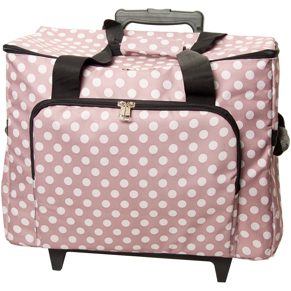 HobbyGift MRTB.006 | Sewing Machine Trolley Bag | Mauve Spot by Tacony Corporation: Amazon.es: Hogar