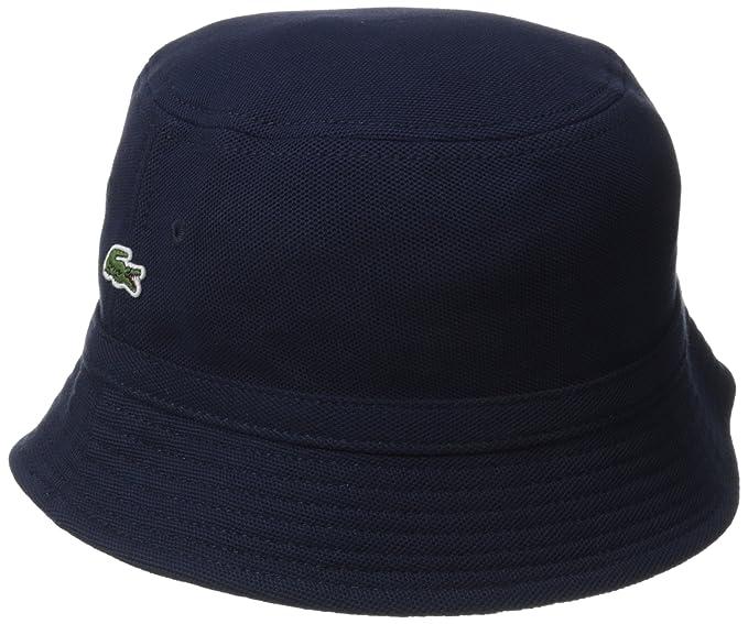 a5001721e34 Lacoste Men s Cotton Pique Bucket Hat at Amazon Men s Clothing store